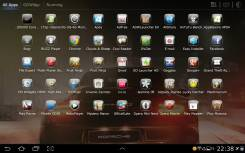 Glass Theme GO Launcher HD Pad