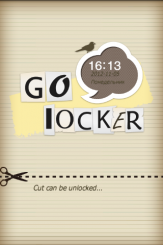 Paper Cut Go Locker Theme