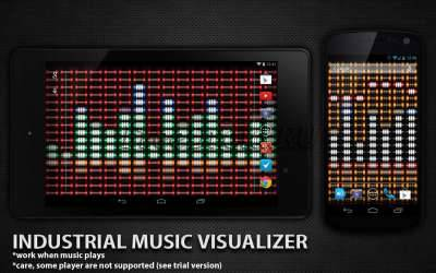 Industrial Music Visualizer