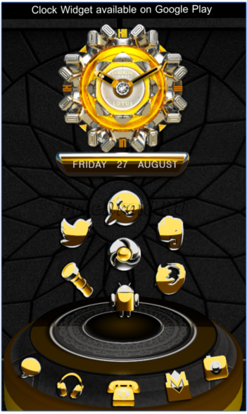 Lotuse 3D Next Launcher theme