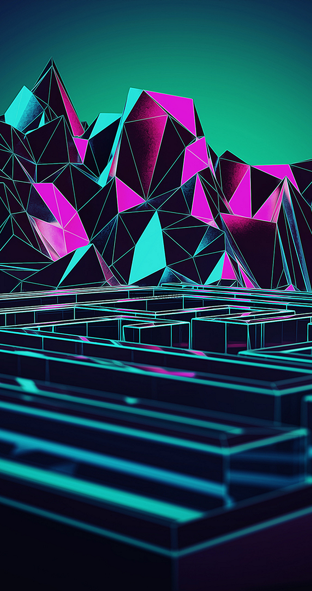 Low Poly wallpaper